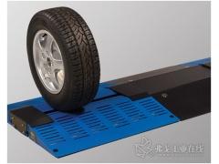 堡盟OADM激光测距传感器助力汽车轮胎胎面检测更快速、更精准