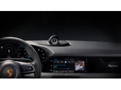 保时捷Taycan电动轿车采用极简内饰 或引入流媒体视频服务
