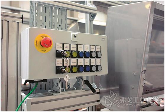 Eisenmann公司首次在模块化的淬火设备中将所有的操作控制和信号设备用Profinet现场总线系统连接到中央控制系统中