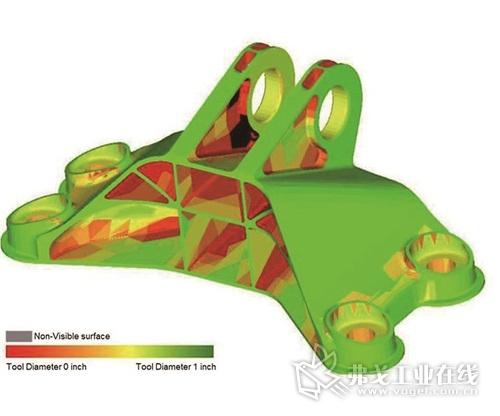 图1 GrabCAD.com网站悬赏设计挑战的CE引擎支架工具访问表