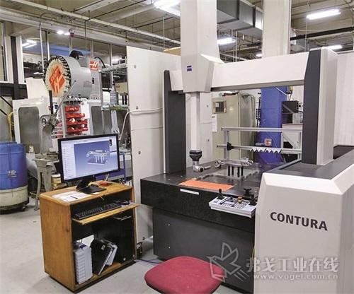 图4  Zeiss Contura坐标测量机