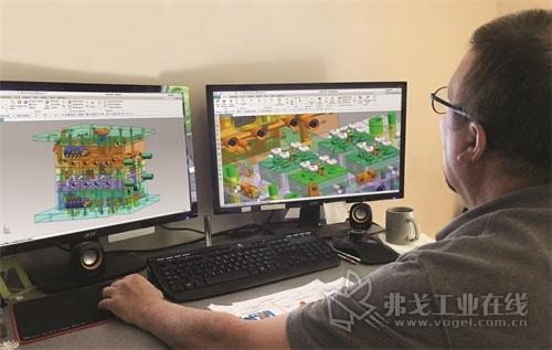 图2 为了缩短交货期,JK Machining引入了NX Mold Wizard,旨在催动模具设计过程自动化。除了使用专门的工具进行模具设计和分析,设计人员还可以充分利用公司的最佳实践经验,将加工周期存储在数字图书馆中