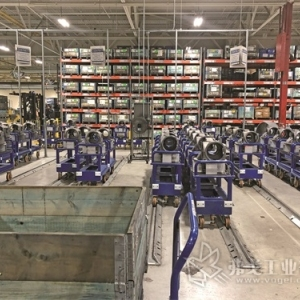 汽车制造商与供应商携手精简加工单元