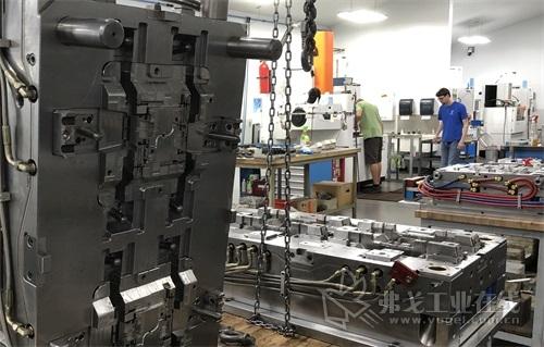 图1 Siemens的NX集成软件帮助JK Machining提高了模具质量,交货期缩短50%。塑料注射模专门针对一级和二级汽车和医疗器械供应商制造,可满足供应商针对复杂模具提出的高标准模具分型线、表面、公差和交货时间要求