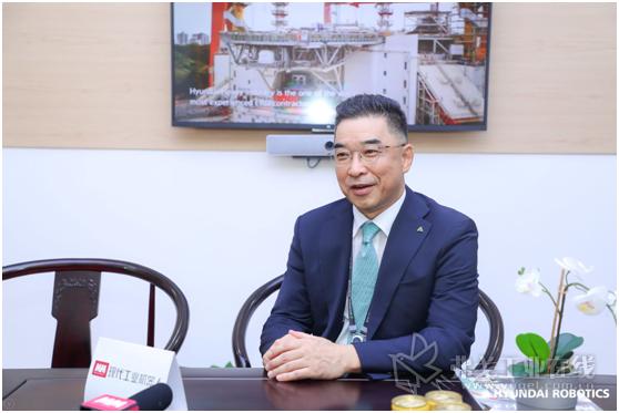 现代机器人(上海)有限公司总裁申东瑾先生
