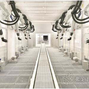 ABB为新能源汽车工厂提供涂装解决方案