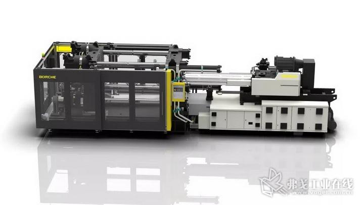 博创新一代大型二板智能注塑机