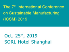 The 7th International Conference on Sustainable Manufacturin