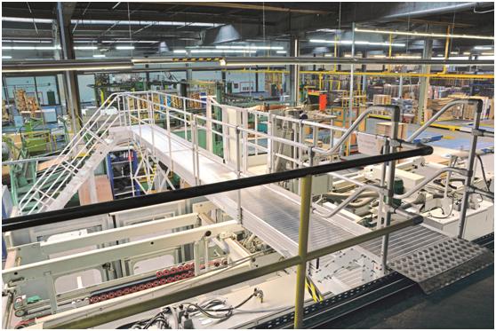 模块化工业梯台