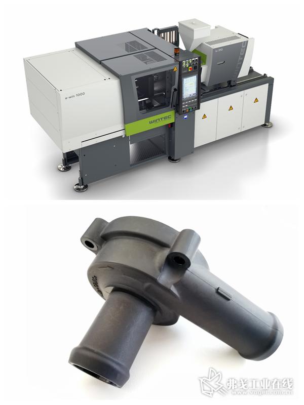 WINTEC另外一个重要的产品线是e-win系列全电动注塑机,主要针对电子、医疗和包装领域