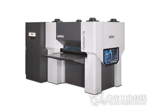 FlatMaster ® 55 型零件精密矫平机