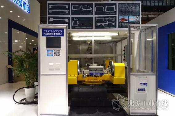 大族赛特维机器人焊接工作站