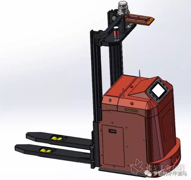 木牛流马二代移动机器人