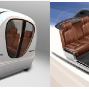 本特勒:电动车和自动驾驶车辆双向底盘概念