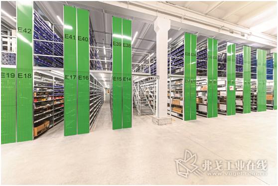 Agravis公司新建的零配件仓库有着更低的运输路径、更快的物流处理过程,能够以最快的速度将备件发给客户