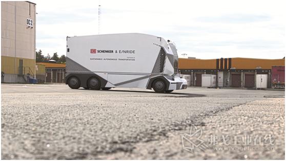 未来已经开始了:T-Pod,第一款全电动自动驾驶运输车正在Jönköping地区使用中。