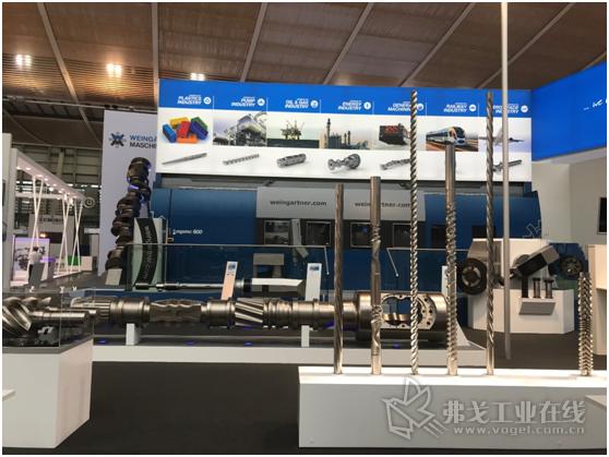 魏因加特纳机械制造有限公司在汉诺威展示了控制单元、摆线铣头和碰撞控制以及其他许多技术创新