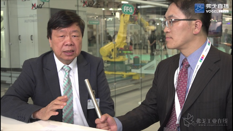 FFG友嘉实业集团总裁朱志洋先生接受MM现代金属加工陈永光主编的采访.mp4