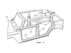 又一项福特Bronco专利公布! 配备可移除防滚架避免事故后翻车