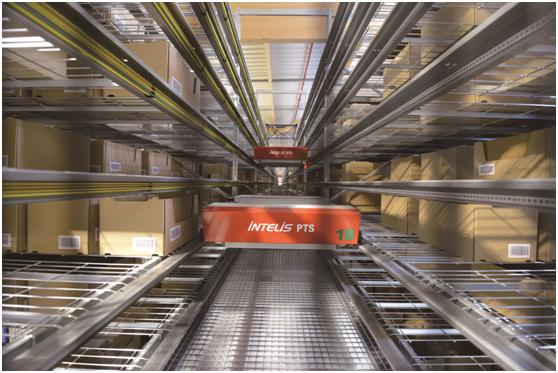 INTELIS PTS多层穿梭车系统