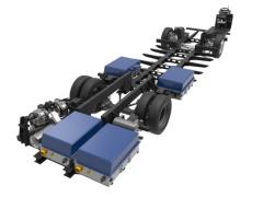 quipmake推出新型低地台底盘 适用于电动双层公交车