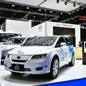 海外扩张 比亚迪电动车将卖到巴基斯坦
