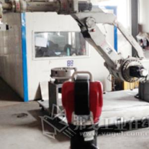 在先进机器人研发工作中采用Radian激光测量仪对机器人进行误差补偿