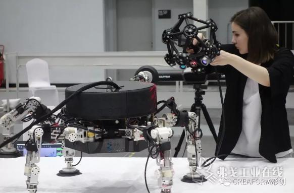 便携式光学 CMM 三维扫描仪 MetraSCAN 3D
