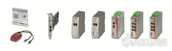 图2 Phoenix Contanct公司开发生产的部分远程遥控系列产品