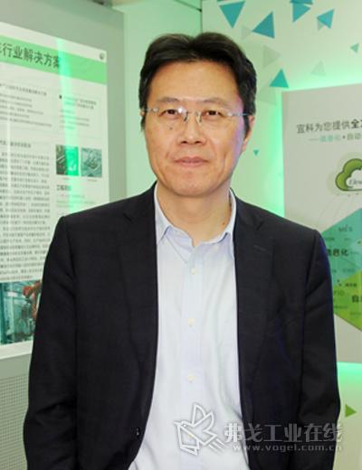 宜科(天津)电子有限公司总经理张鑫先生