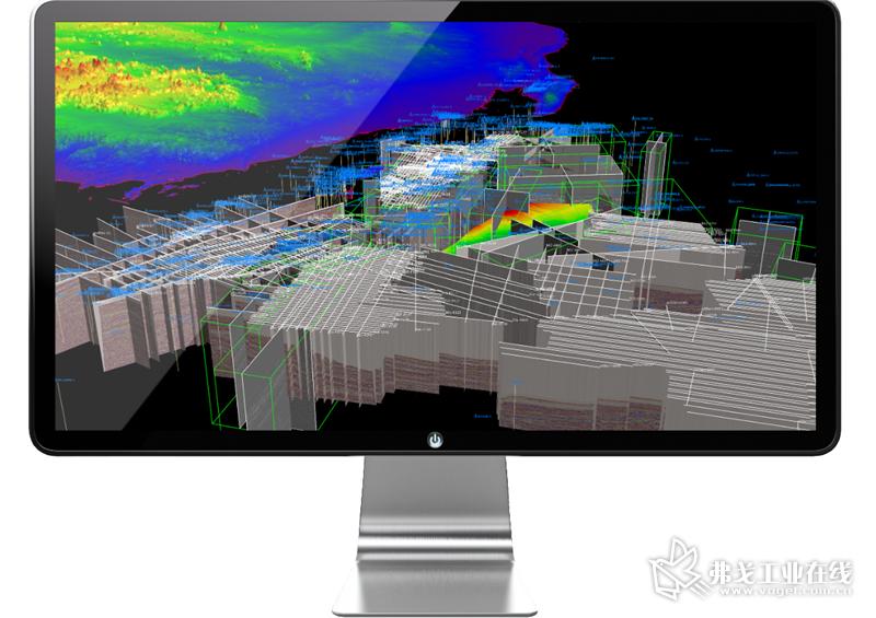 在艾默生多用户集成解读平台中,可在云端高效访问多个2D 和 3D 地震数据集和大型解读区域范围显示,提高团队效率和协作。——图像来源于澳大利亚地球科学局相关材料