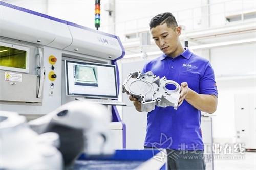 激光选区熔化的金属3D打印工艺