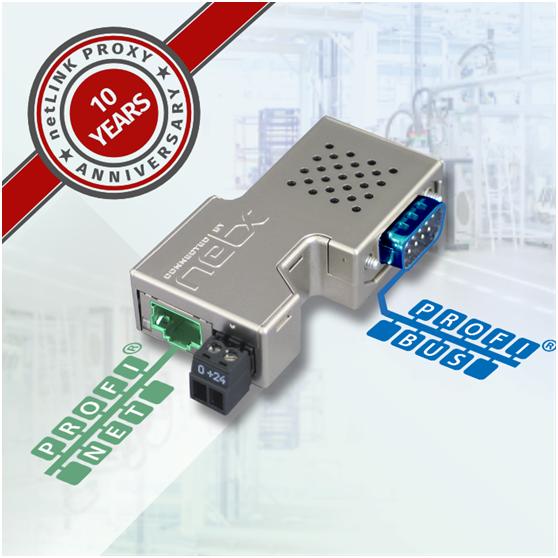 连接器式PROFIBUS/PROFINET 转换器
