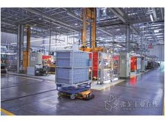 宝马公司使用的智能运输机器人
