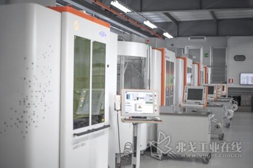 客户工厂正在使用的LASER S系列机床