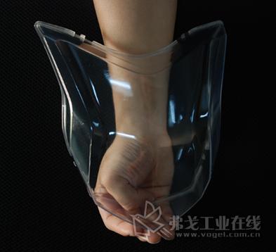 中山大简的透明材料