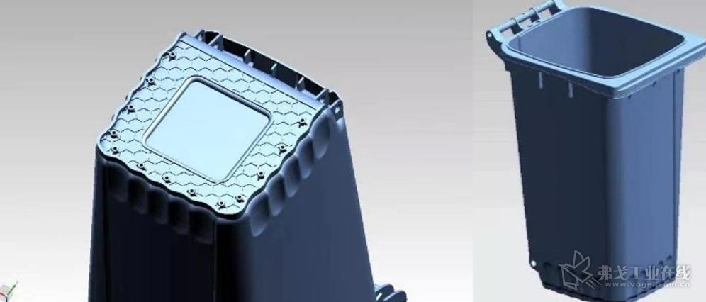 卓逸塑业整合了各类细分垃圾桶的优点,如增加原来只在医疗垃圾桶配置的挂钩、桶内采用更耐脏的磨砂表面或在底部采用更加牢固的六角花纹等,以赋予产品更高的附加值