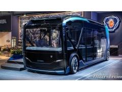 用于概念公交车的碳纤维复合材料部件