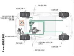 大众e-up电动汽车底盘和传动系结构和功能解析