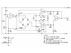 汽车轮胎气压测量及调节电路