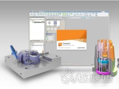 Cimatron专于工模具设计、电极设计与加工自动化