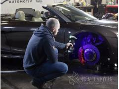 坐在北极星三轮跑车里面进行 3D 扫描是怎样的体验?