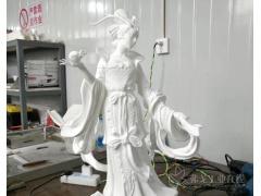 3D打印蜡模快速铸造,9.8米龙女雕塑35天完成交付